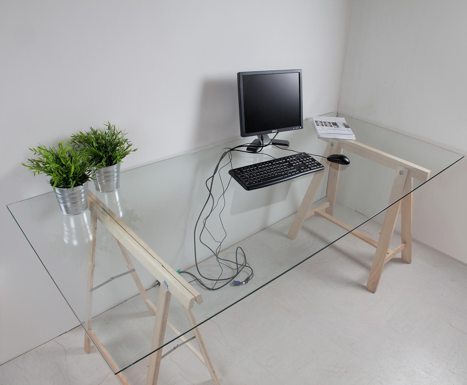 Schreibtischplatte  Bümö® stabile Tischplatte 2,5 cm stark – DIY Schreibtischplatte ...