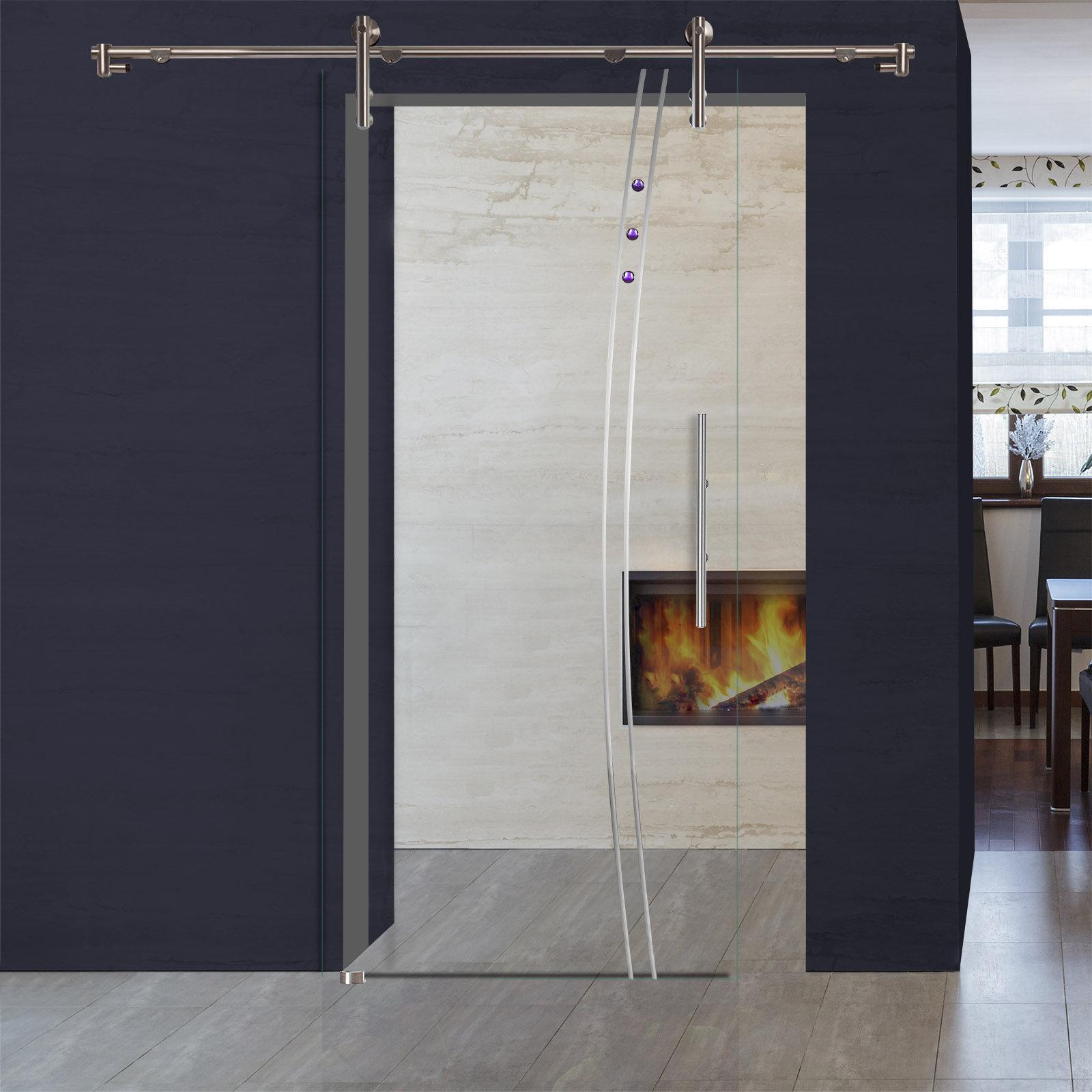glasschiebet r sd979 f v1000 kristallrillenschliff schmucksteine griffstangen ebay. Black Bedroom Furniture Sets. Home Design Ideas