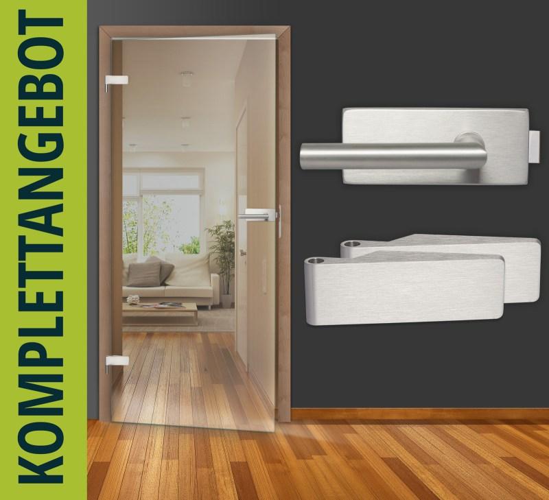 glast r ganzglast r qsd010 klarglas 8 mm sicherheitsglas komplettangebot ebay. Black Bedroom Furniture Sets. Home Design Ideas