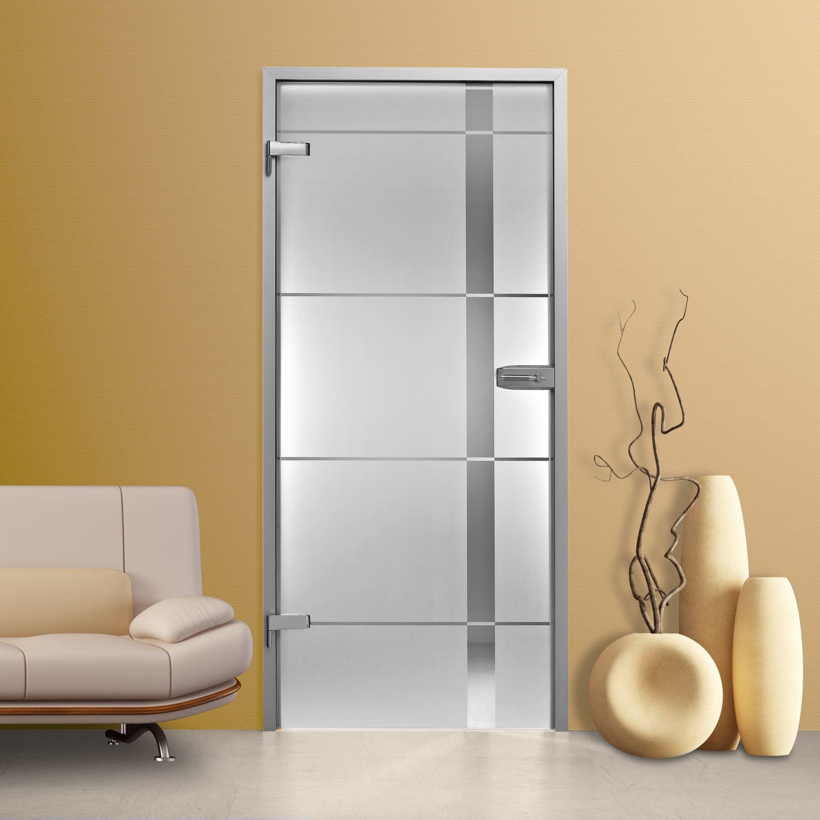 glast r gds286 f klarglas mit dekor ebay. Black Bedroom Furniture Sets. Home Design Ideas