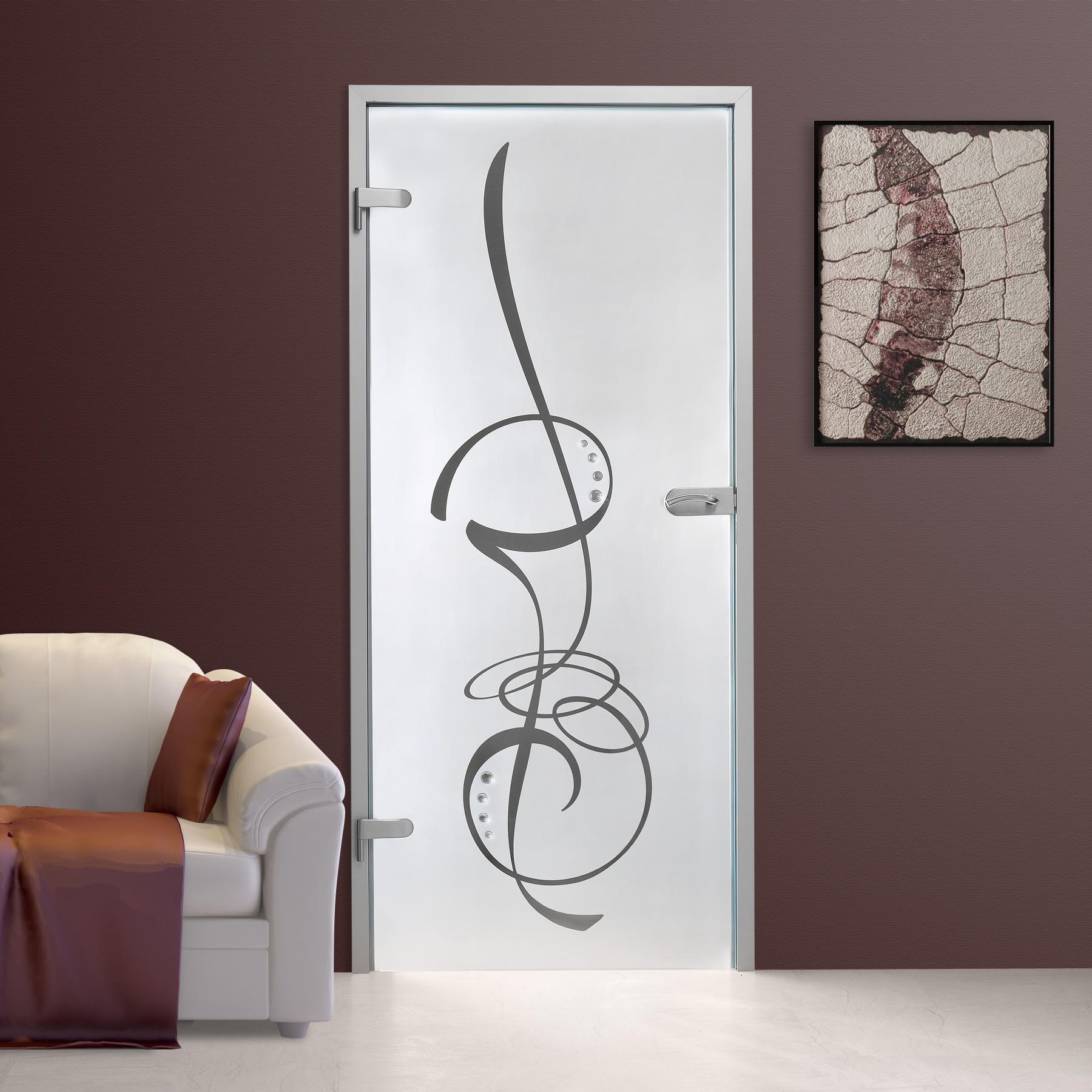 Imagens de #805949 Details zu Glastür GDS287 F2 Siebdruck mit Schmucksteinen 1800x1800 px 3510 Blindex Fosco Banheiro