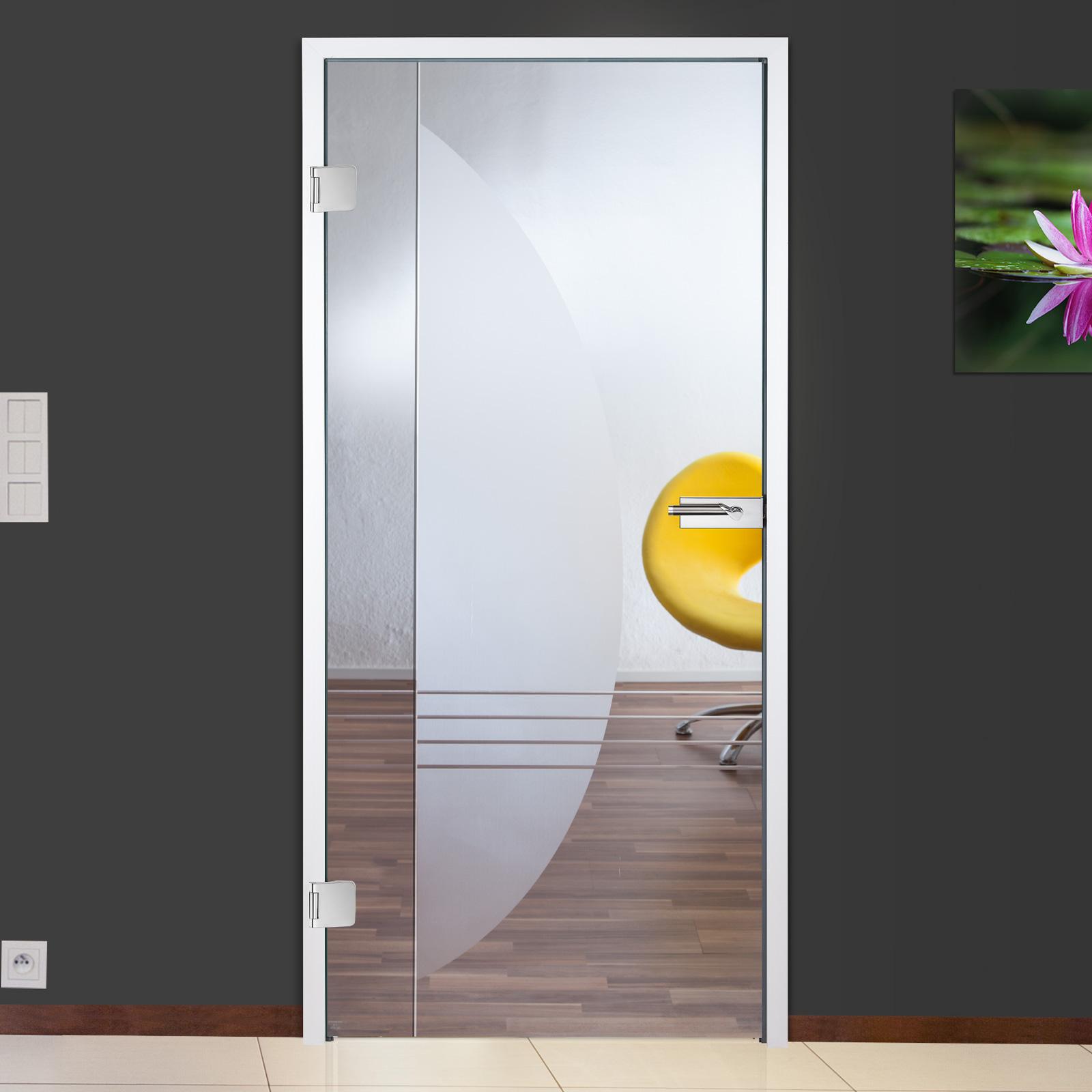 glast r ganzglast r innent r gtr910 f restposten 834 x 1972 mm din links ebay. Black Bedroom Furniture Sets. Home Design Ideas