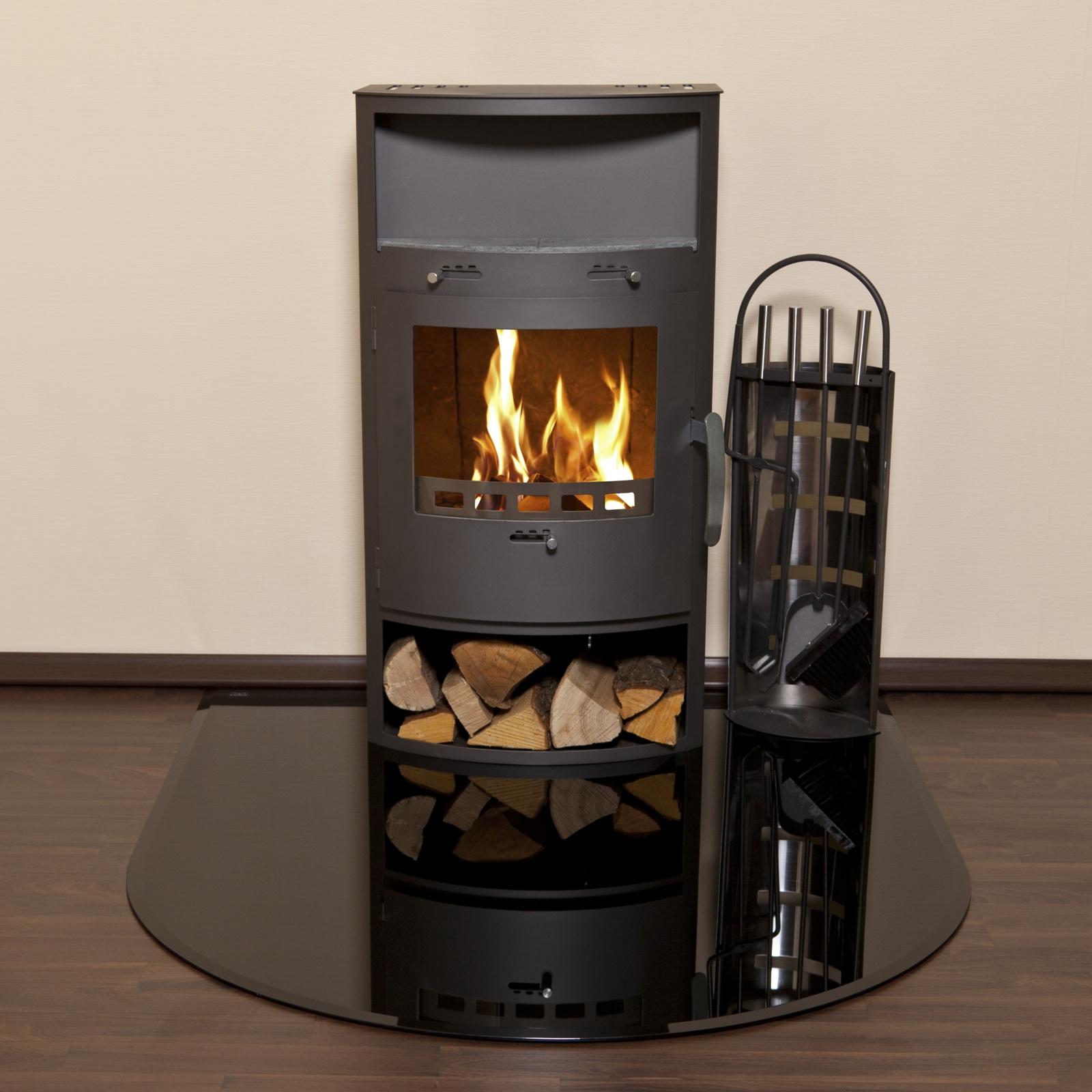 kaminofen bodenglasplatte 6mm funkenschutz mit facette opf 1 1200 schwarz ebay. Black Bedroom Furniture Sets. Home Design Ideas