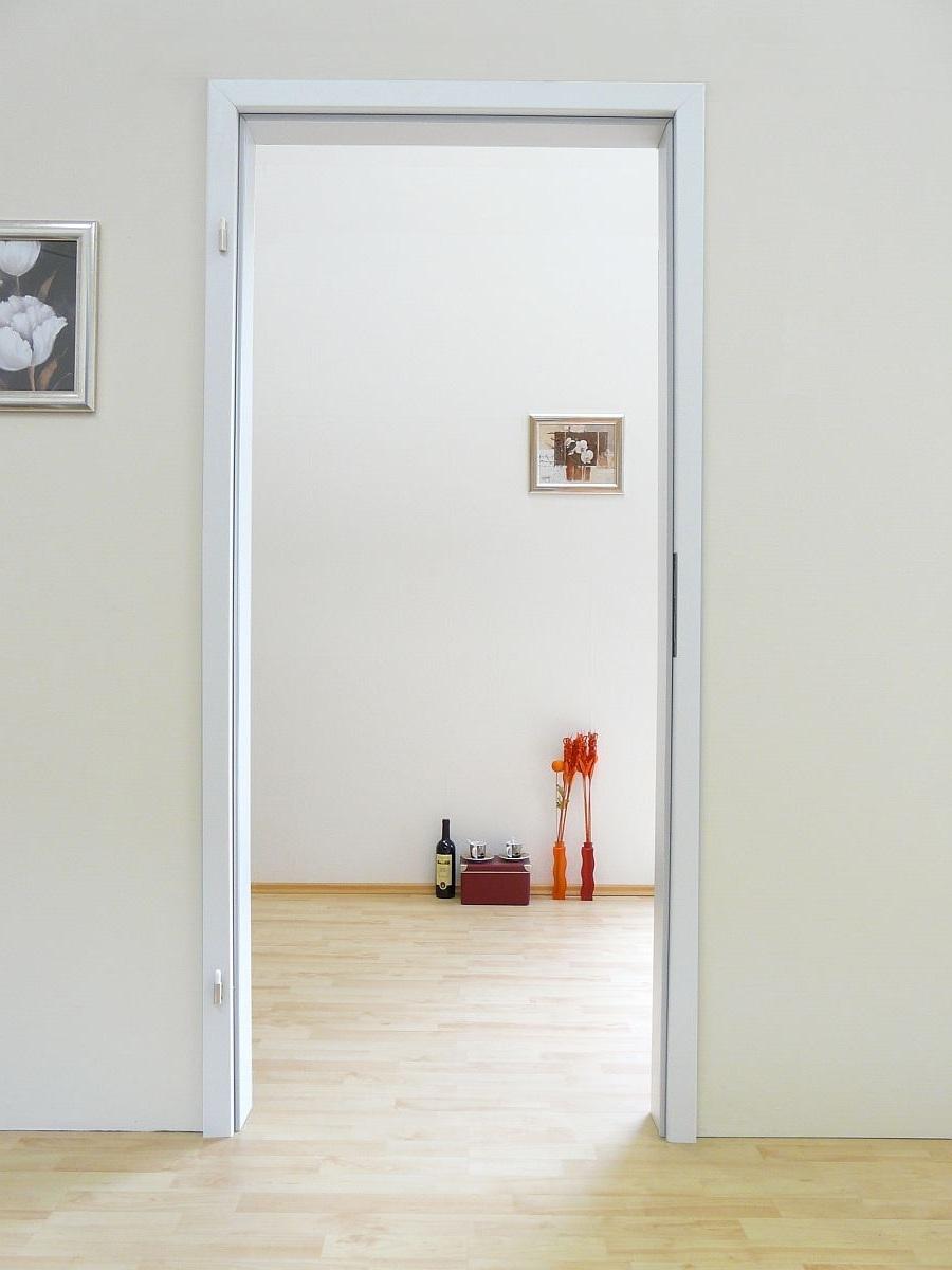NebeneingangstUr Holz Mit Zarge ~ Zarge Duritrop weiß für Glastür 1 Flügel in 4 Größen und 7