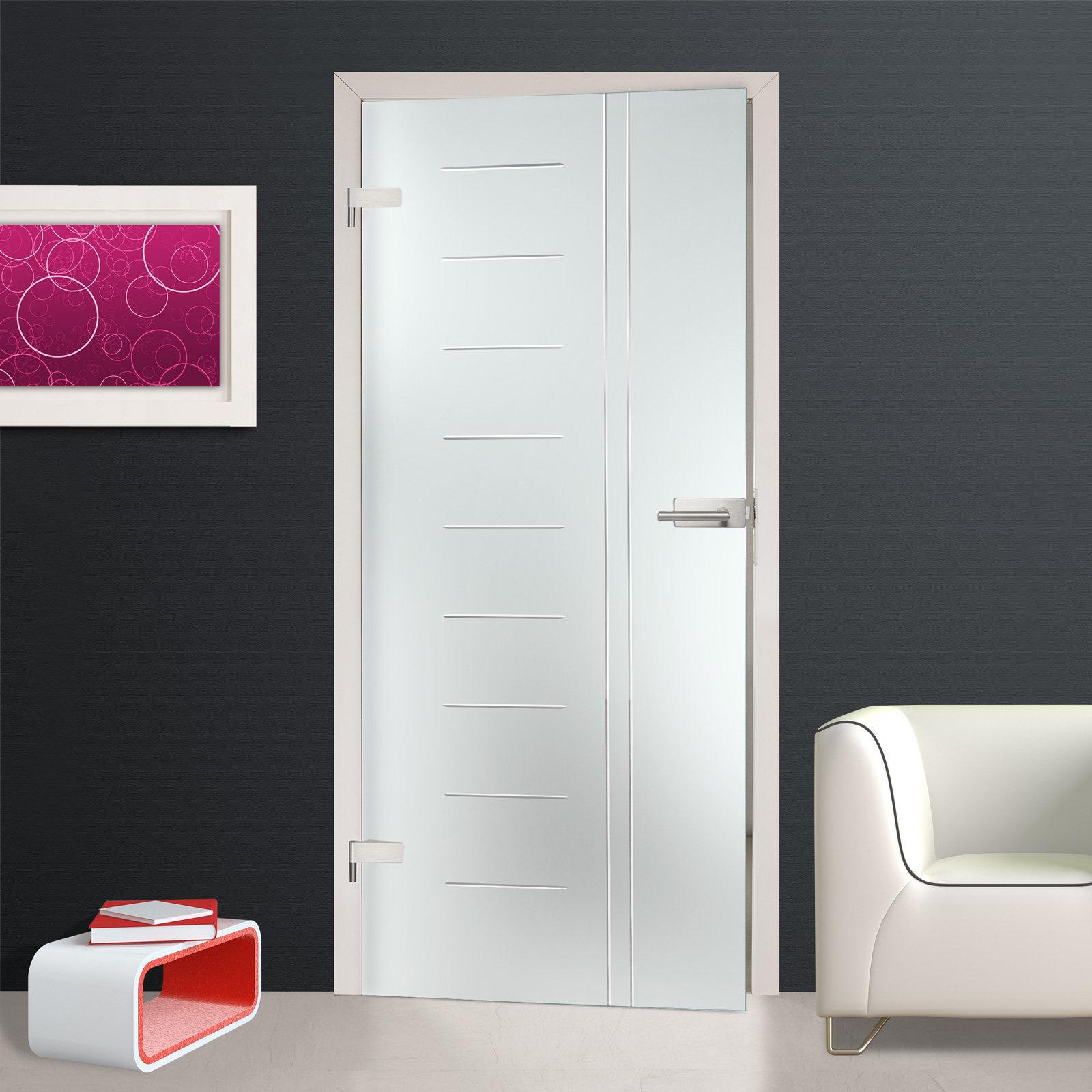 glast r ganzglast r innent r egr2009 restposten 834 x 1972 mm din links ebay. Black Bedroom Furniture Sets. Home Design Ideas