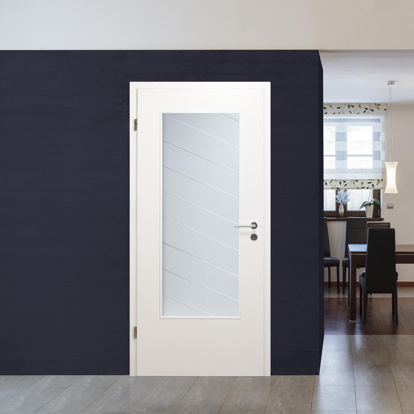 glaseinsatz f r holzt r satinato mit kristallrillenschliff. Black Bedroom Furniture Sets. Home Design Ideas