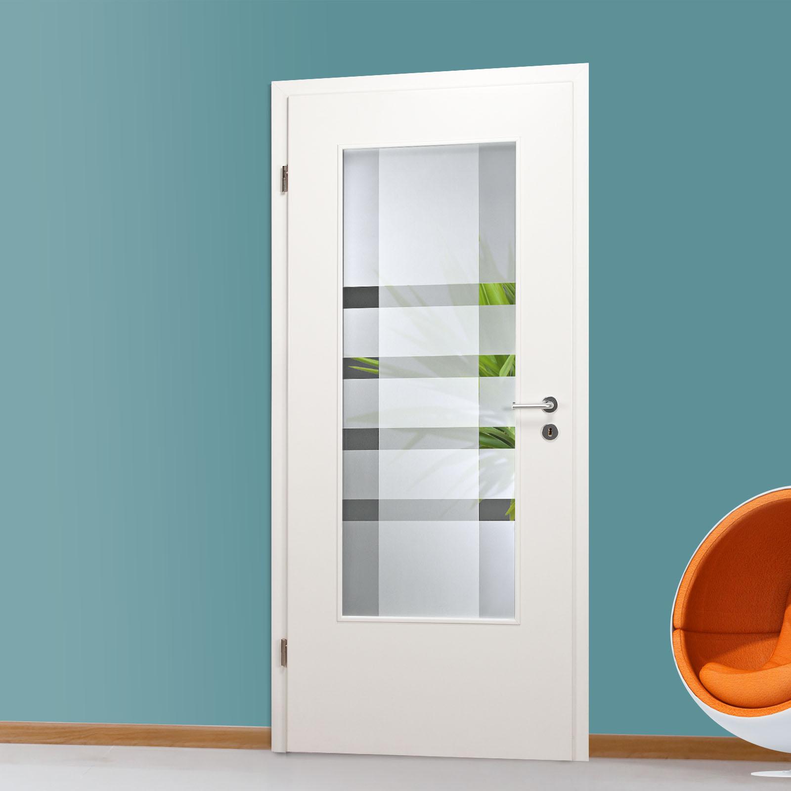 Berühmt Glaseinsatz für Holztür mit Dekor QSLA346-F auf Klarglas | eBay CQ57