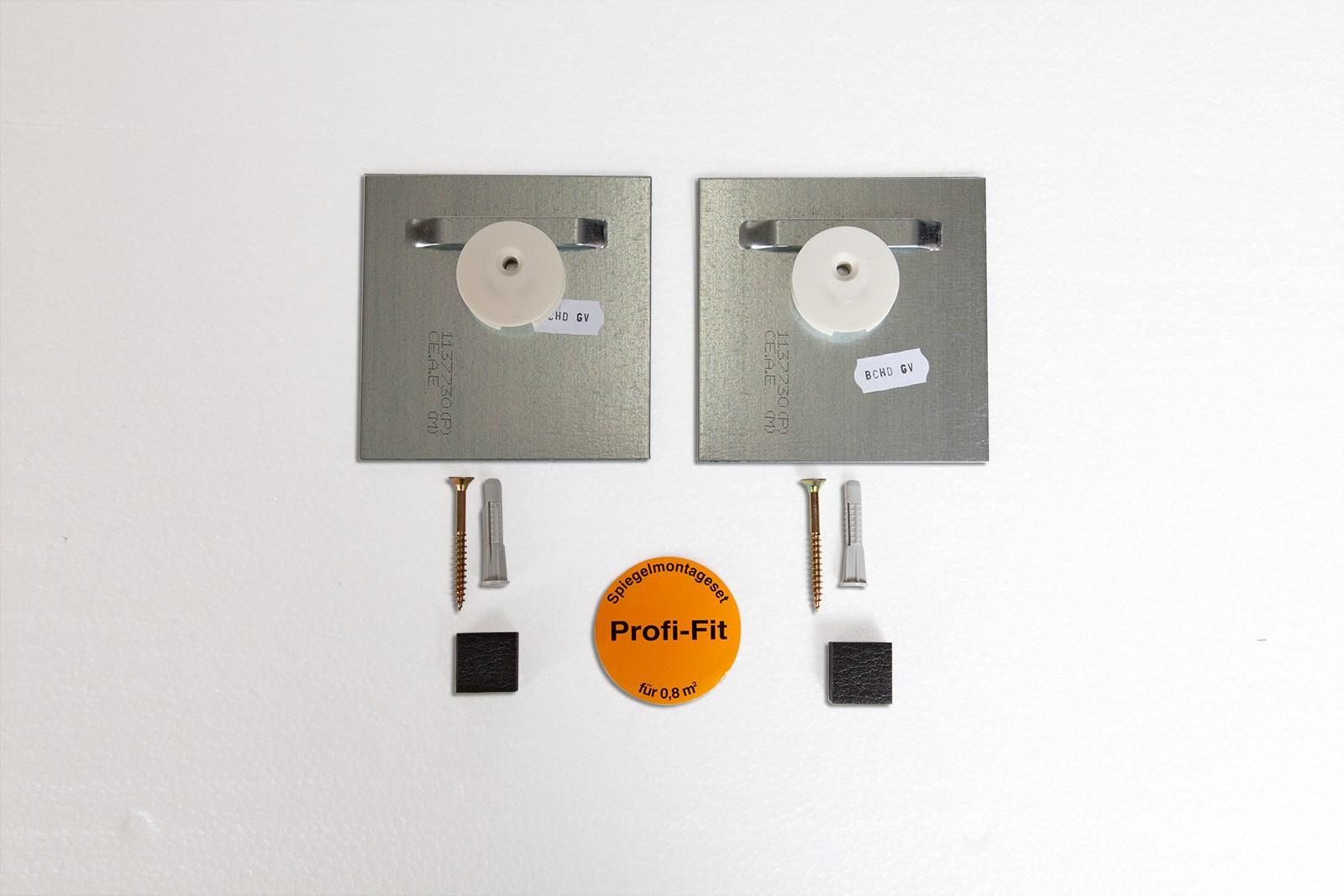 Spiegel Montageset 0,8 m2