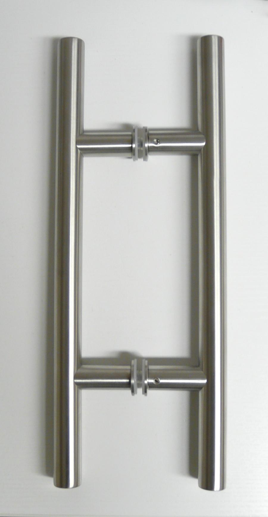 glasschiebet r sd716 2 alu60 2 fl gel satinato griffstangen edelstahl ebay. Black Bedroom Furniture Sets. Home Design Ideas